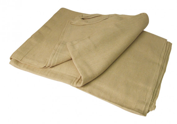 Dust sheet, cotton twill, size 7.3x0.9 m