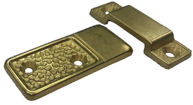 Table bridge & tabs, brass TWO PART JOB