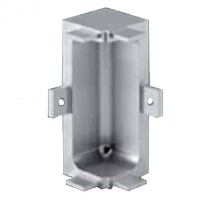 Connectors, internal corners, for profiles, Gola system C plus, bronze
