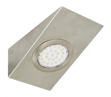 LED downlight 12V, IP20, wedge kitset with driver, daylight white 6000K (3 LIGHT)