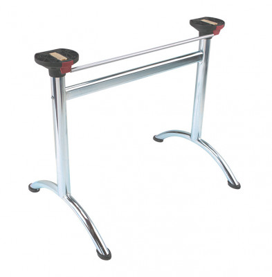 Folding table legs, for minimum table top thickness 25 mm, 700 mm high
