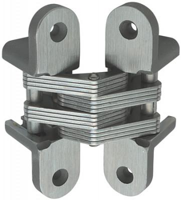 Soss hinge, 65x13 mm, bronze plated