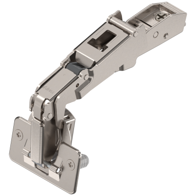 CLIP top wide angle hinge 170°, OVERLAY, boss: SCREW-ON, nickel