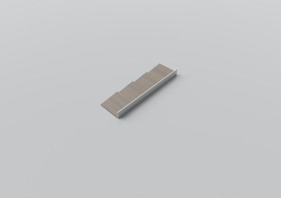 Cutlery divider, W=100 mm, D=472 mm, walnut