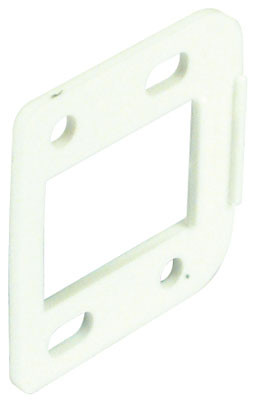 Spacer plate, for 90ø easy mount hinge, 2 mm thick