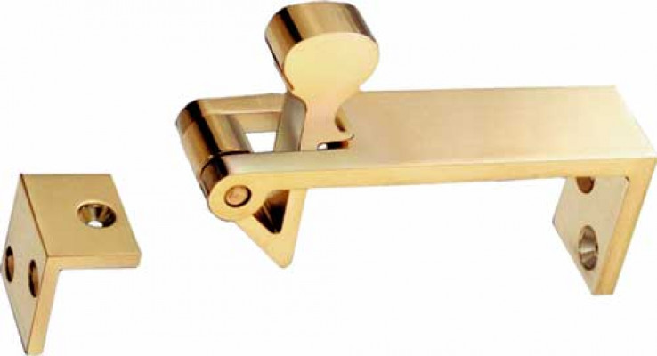 Counterflap catch, satin chrome