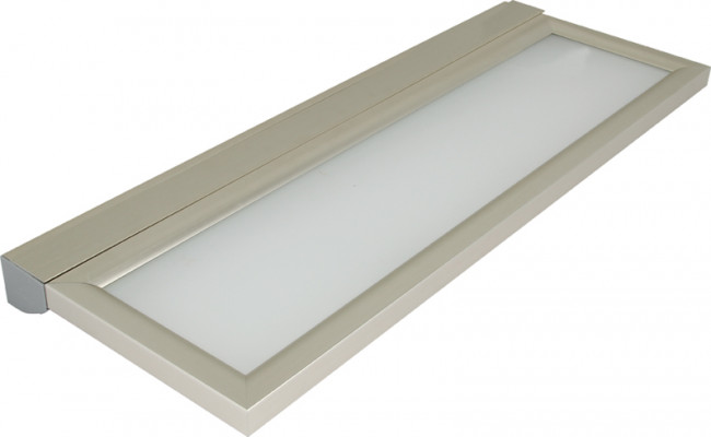 230V/8W N/Wht Led St St 900mm Shelf Lght