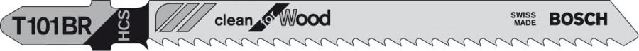 Jigsaw blade, Bosch T101BR, 1 pack, 5 blades