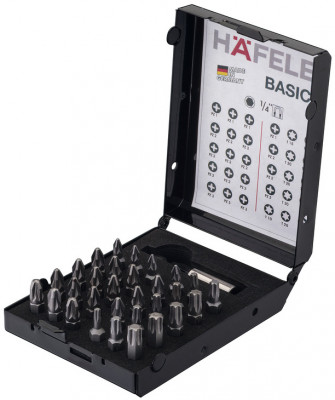 Bit box, PZ & Ts, with magnetic holder, no. of bits: 30