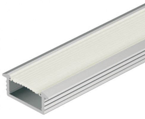 Recessed aluminium profile, LED flexible strip lights, D=6.5 mm, frost