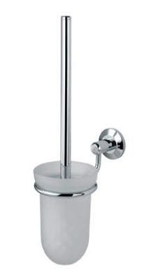De L'eau Tempo Glass Toilet Brush Holder