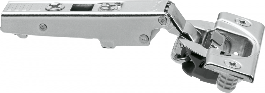 CLIP top BLUMOTION hinge 107°, FULL OVERLAY, boss: Knock-In, NP