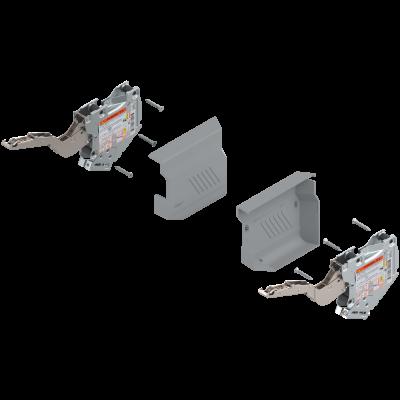 AVENTOS HK-S weak stay lift mechanism, PF=220-500, for TIP-ON, grey kit