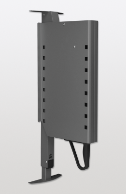 PEGASUS LIBELL type 1=0-12 kg mech wall cabinets, D=280 mm, H=660-94 6mm, PEKA, anthracite