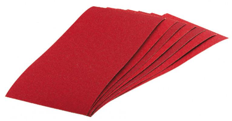 sanding strips, 70x125 mm, mirka, for power &  sanding, grit: 80