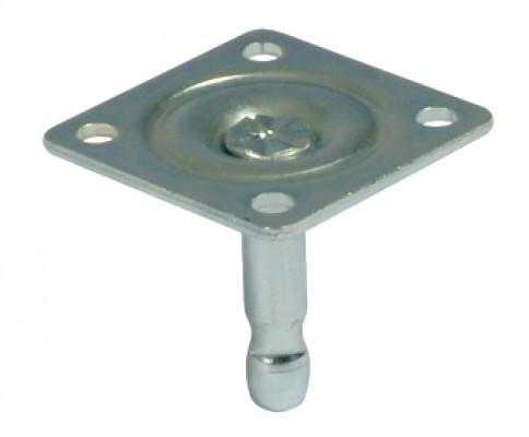 Hafele Pin For Castors Ø 11 Mm With 65 Mm Mounting Plate Pin Ø 11 Mm