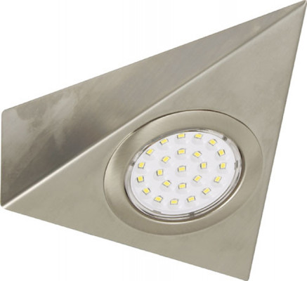 LED downlight 12V, IP20, Loox wedge downlight, single triangular, warm white 3200 K