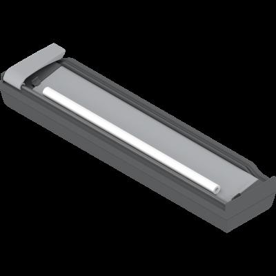 ORGA-LINE foil cutter for plastic wrap (with foil), grey/orange