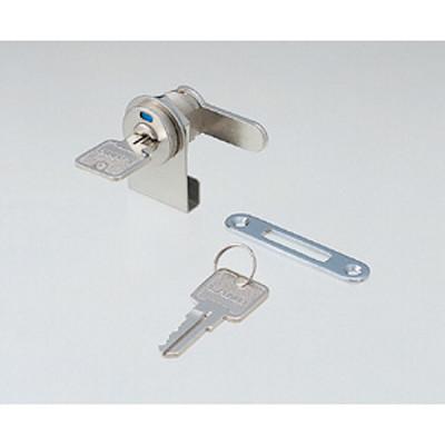 Glass door cam lock, with indicator