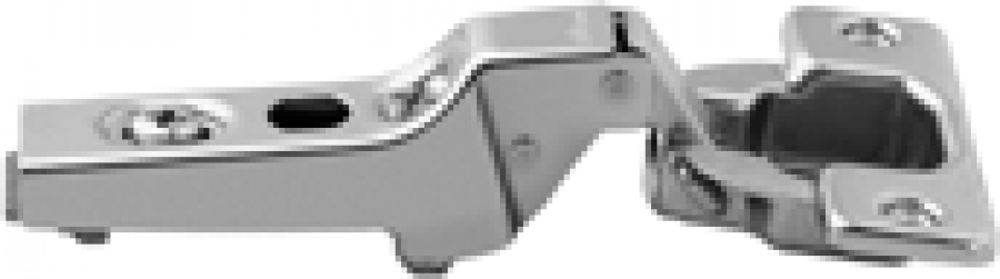 CLIP hinge 100°, dual applications, boss: screw-on, NP
