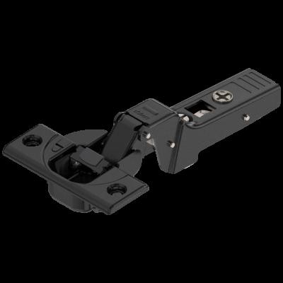 CLIP top BLUMOTION profile door hinge 95°, dual applications, boss: SCREW-ON, onyx black