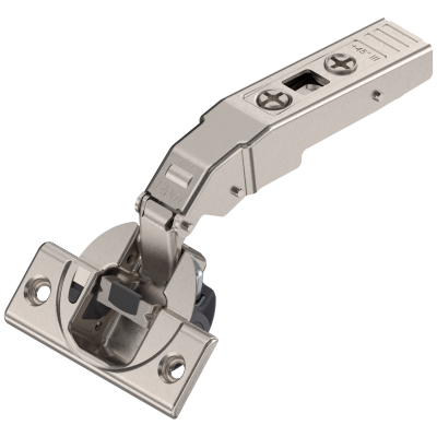 CLIP top BLUMOTION angled hinge for +45° applications, nickel