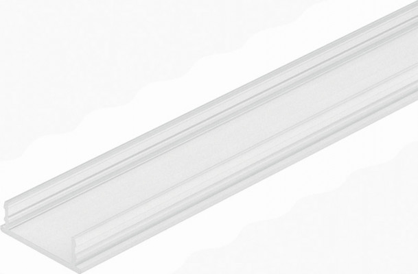 Diffuser cover profile, for 12V led strip lights, L=2500 mm