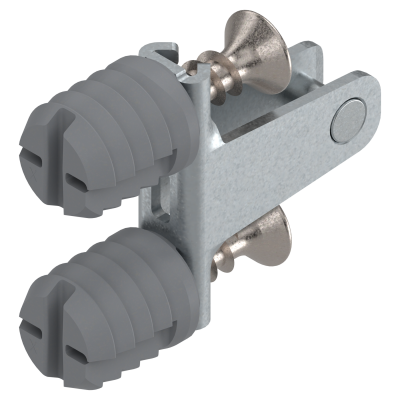 LEGRABOX front fixing bracket, height M (67 mm), EXPANDO, symmetrical