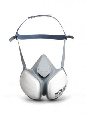 Dust mask, compact half mask, integrated ABEK1P3 filters, Moldex, protective FFABEK1 P3
