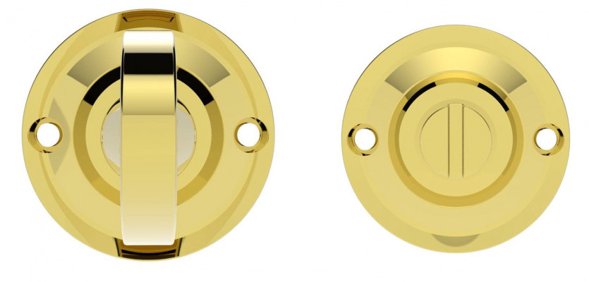 Delamain Turn & Release - Small in polished brass