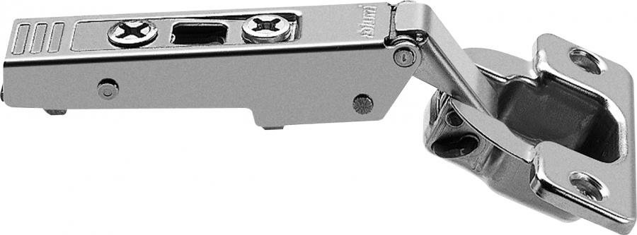 CLIP top hinge 120°, OVERLAY, unsprung, boss: screw-on, NP