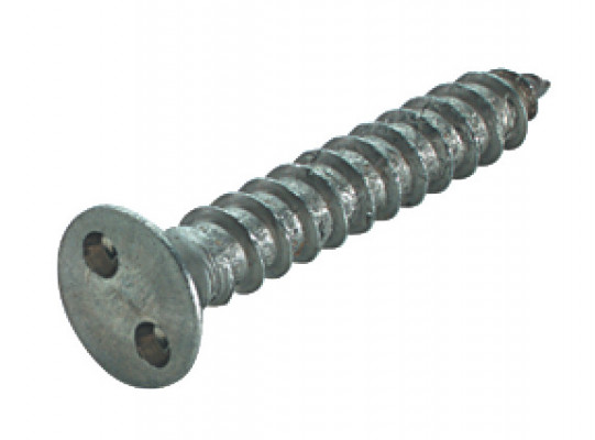 Security screw, countersunk, 2 holes, size 3.5x25 mm, TH4