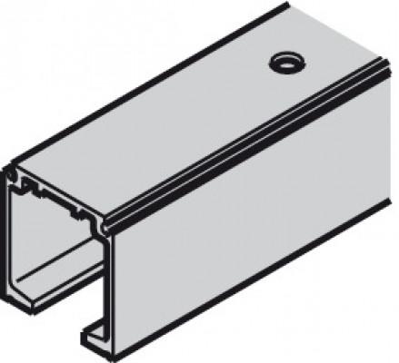 Top track, for sliding doors, Slido classic 120P, L=2000 mm, aluminum