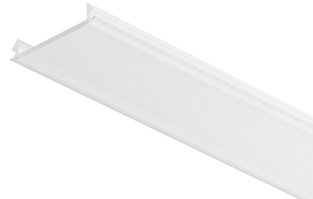 Diffuser cover, replacement, for Loox aluminum profiles, L=2500 mm, milky