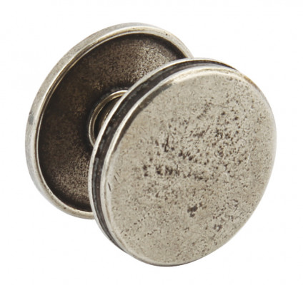 Knob, Ø 42 mm, brunswick, pewter