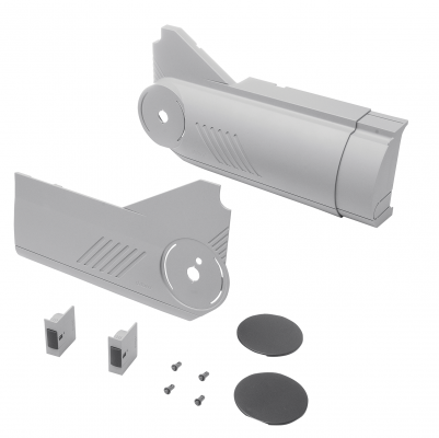 AVENTOS HL lift up, cover cap set (inc trigger switch), left+right, for SERVO-DRIVE