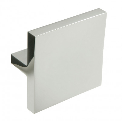 Knob, zinc alloy, H=60 mm, W=60 mm, Amber, polished chrome