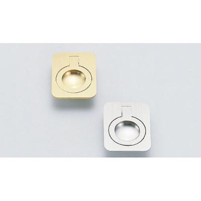 Ring pull, 40 mm, satin brass