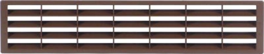 Vent Grill Brown 400X83mm