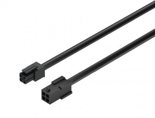 Extension lead, for use with Loox LED switches, black