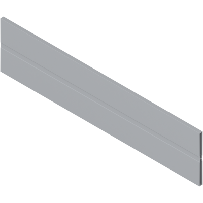ORGA-LINE cross divider, for ANTARO, NL=1077 mm, grey