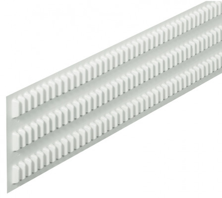 Ribbed foil, length 535 mm, ratio-pharm system version C, height 120 mm, self adhesive