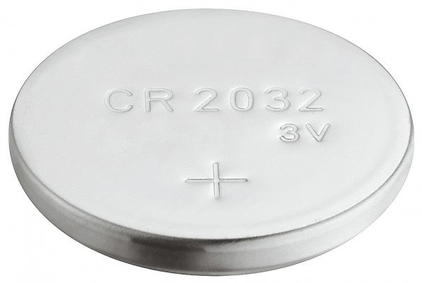 Battery, button cell, CR 2032