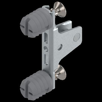 LEGRABOX front fixing bracket, height M (91 mm), EXPANDO, symmetrical