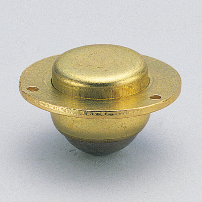 Ball caster, recessed