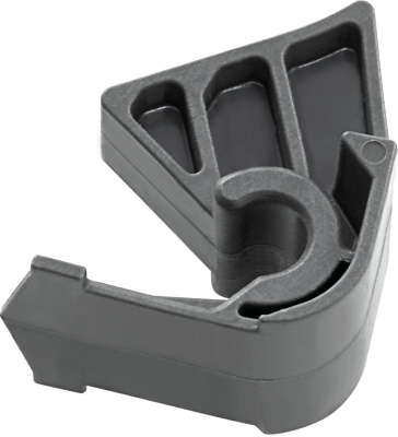 Angle stop for AVENTOS HK, 75° opening, grey