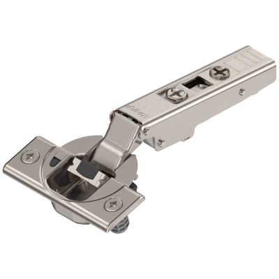 CLIP top BLUMOTION hinge 110°, FULL OVERLAY, boss: KNOCK-IN, nickel
