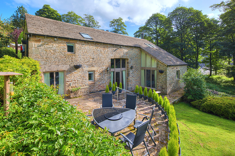 Beavers Croft, peak district, property photographer, external
