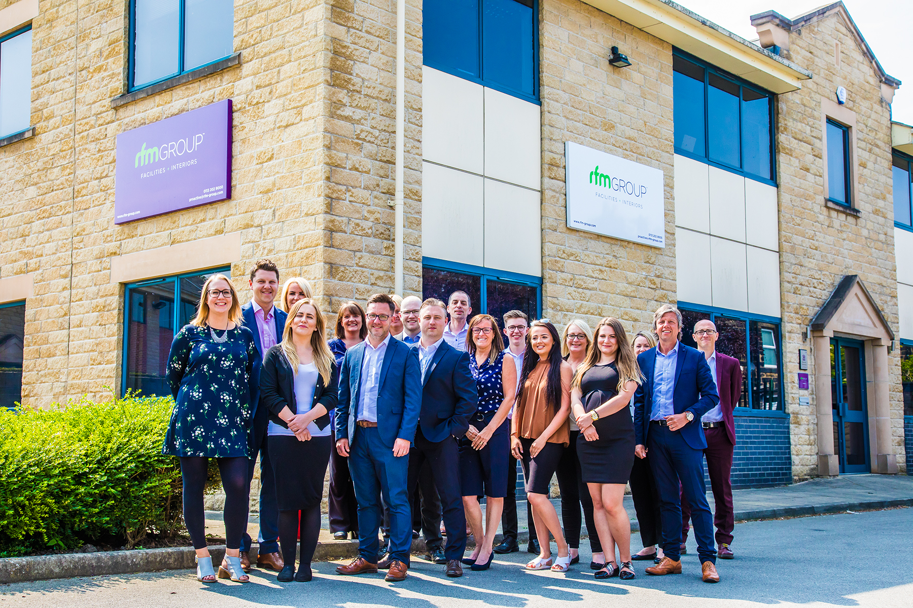 commercial photography, head shots, corporate photography, rfm interiors, interior design, group shots, leeds, west yorkshire