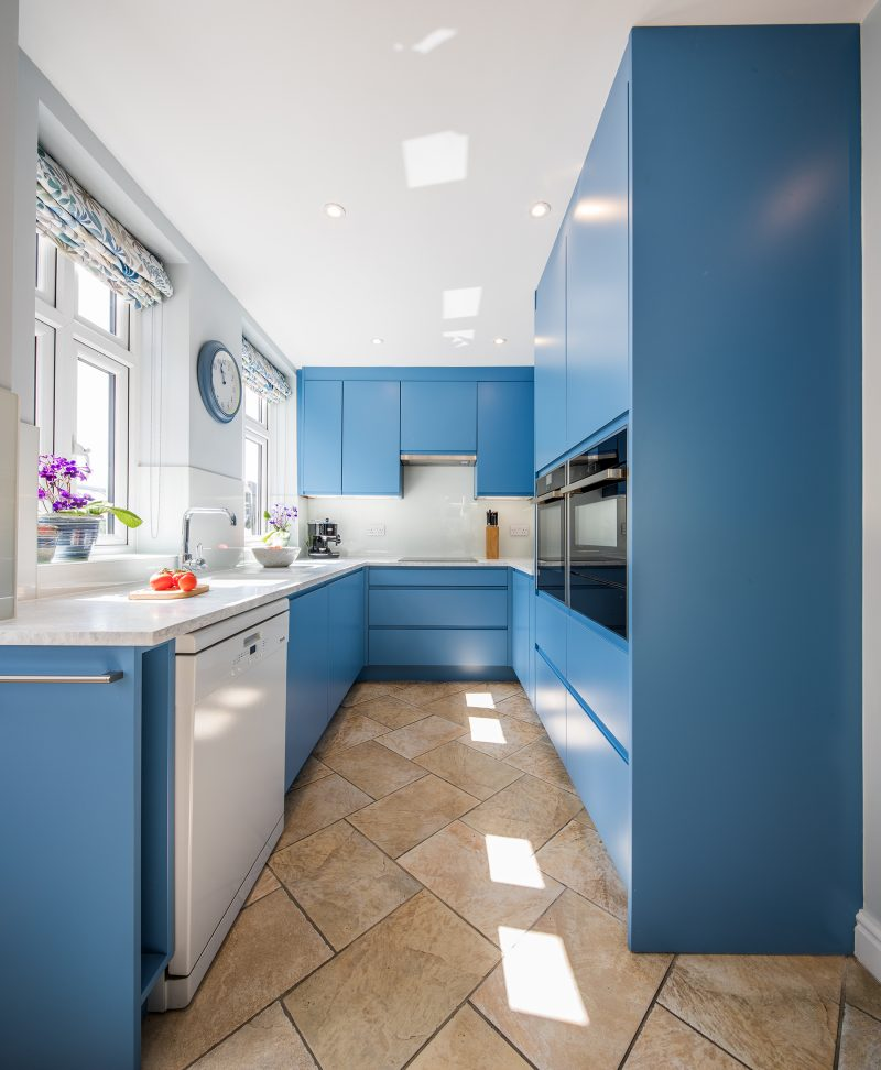 kitchen photography, kitchen, sheffield, interiors, interior, blue kitchen, architectural photography